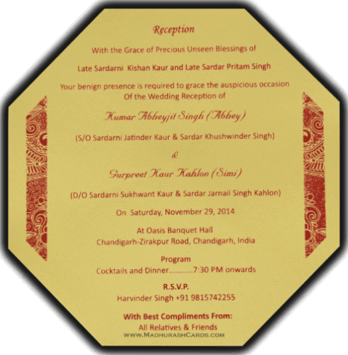 Multi-faith Invitations - NWC-7318 - 5