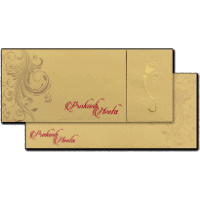 Hard Bound Wedding Cards - HBC-14078