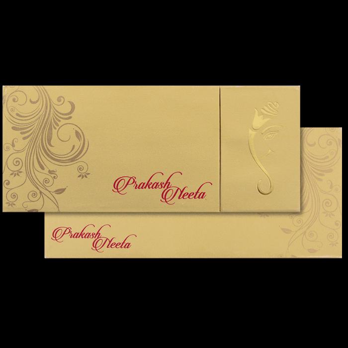 test Hard Bound Wedding Cards - HBC-14078