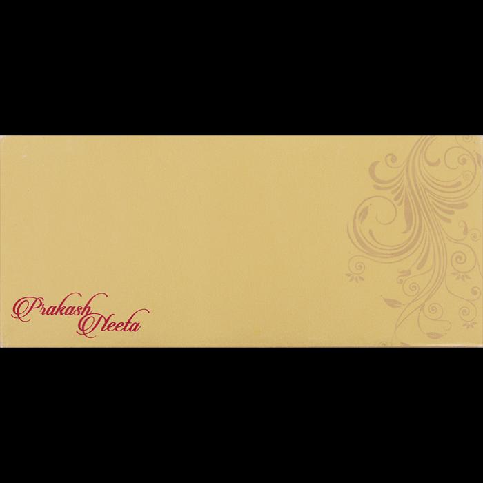 Hard Bound Wedding Cards - HBC-14078 - 4