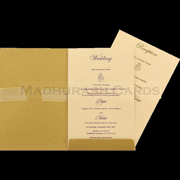 Hindu Wedding Invitations - HWC-16085 - 4