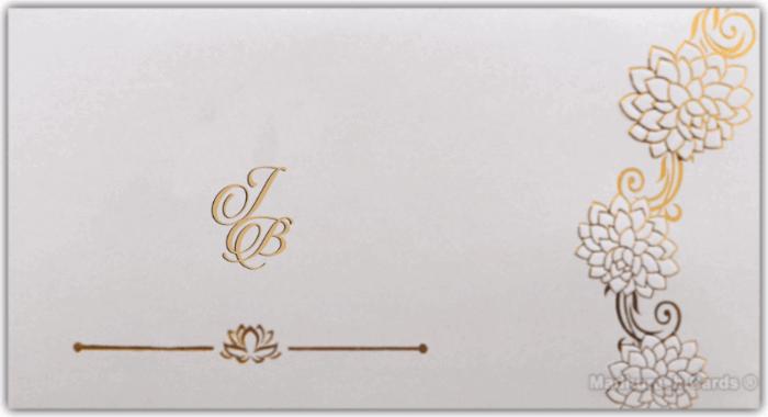 Muslim Wedding Invitations - MWC-16183I