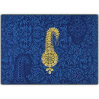 Custom Wedding Cards - CZC-8835BG