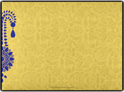 Custom Wedding Cards - CZC-8835BG - 3