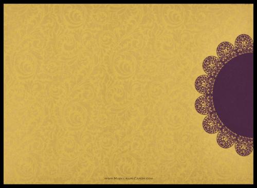Custom Wedding Cards - CZC-8834VG - 3