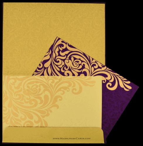 Custom Wedding Cards - CZC-8834VG - 4