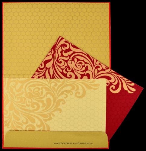 Custom Wedding Cards - CZC-8833RG - 4