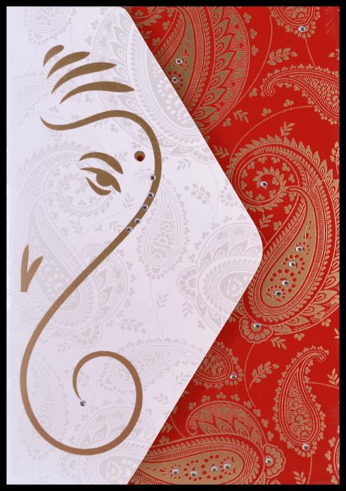 Hindu Wedding Invitations - HWC-16082