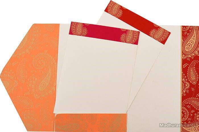 Hindu Wedding Invitations - HWC-16082 - 4