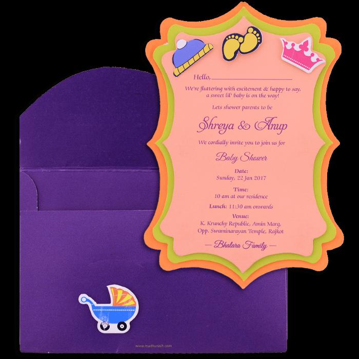 Custom Wedding Cards - CZC-9762 - 4