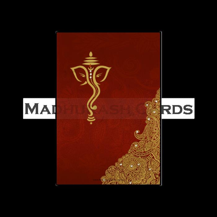test Fabric Wedding Cards - FWI-14079