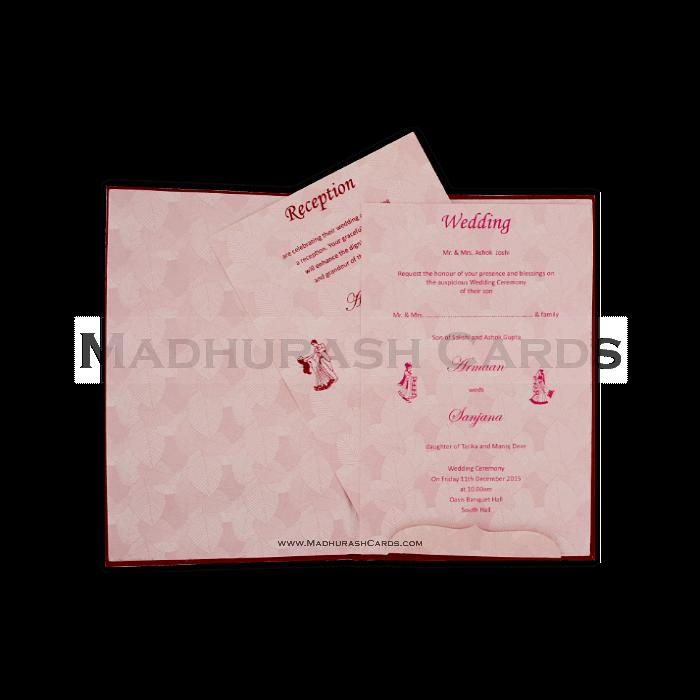 Fabric Wedding Cards - FWI-14079 - 4