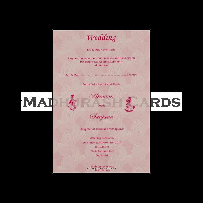 Fabric Wedding Cards - FWI-14079 - 5