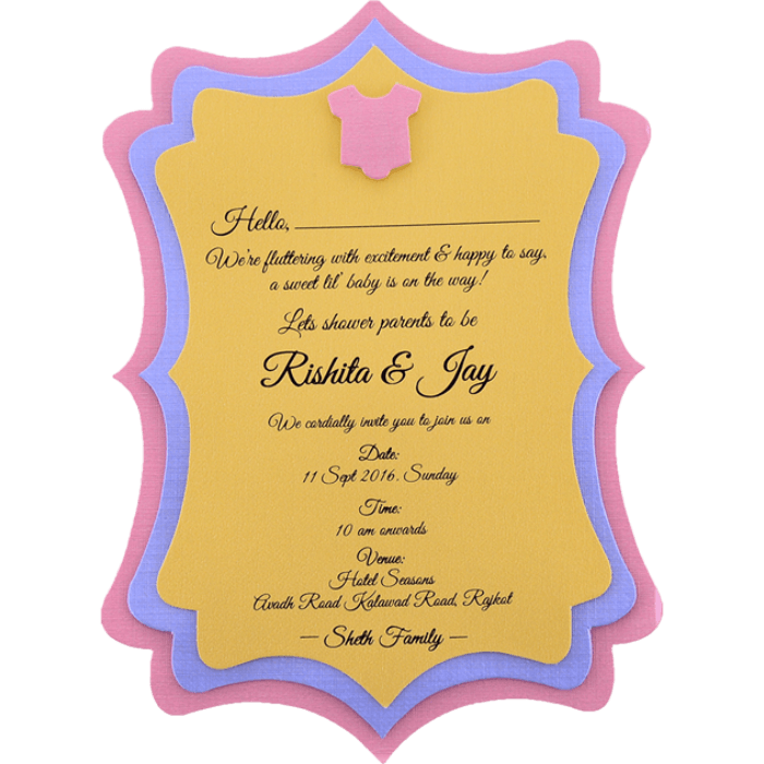 Custom Wedding Cards - CZC-9764