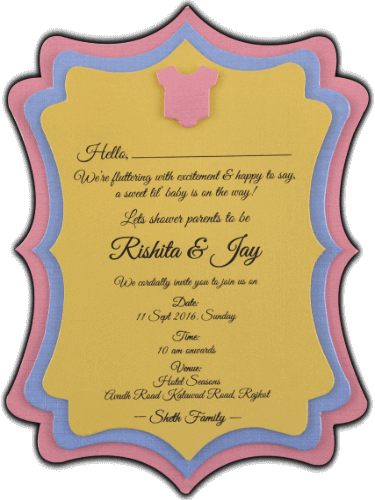 Baby Shower Invitations - BSI-9764