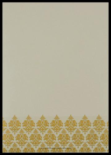 Custom Wedding Cards - CZC-9047GC - 3