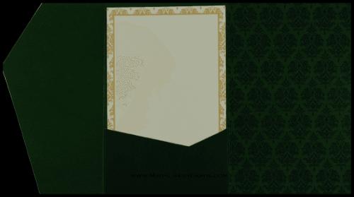 Custom Wedding Cards - CZC-9047GC - 4