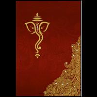 Hard Bound Wedding Cards - HBC-14079