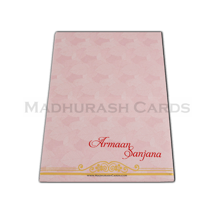 Hard Bound Wedding Cards - HBC-14079 - 3