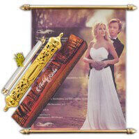 Royal Scroll Invitations - SC-6101