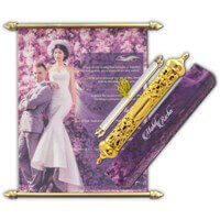 Royal Scroll Invitations - SC-6102