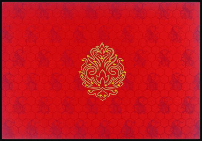 Luxury Wedding Cards - LWC-8762 - 4