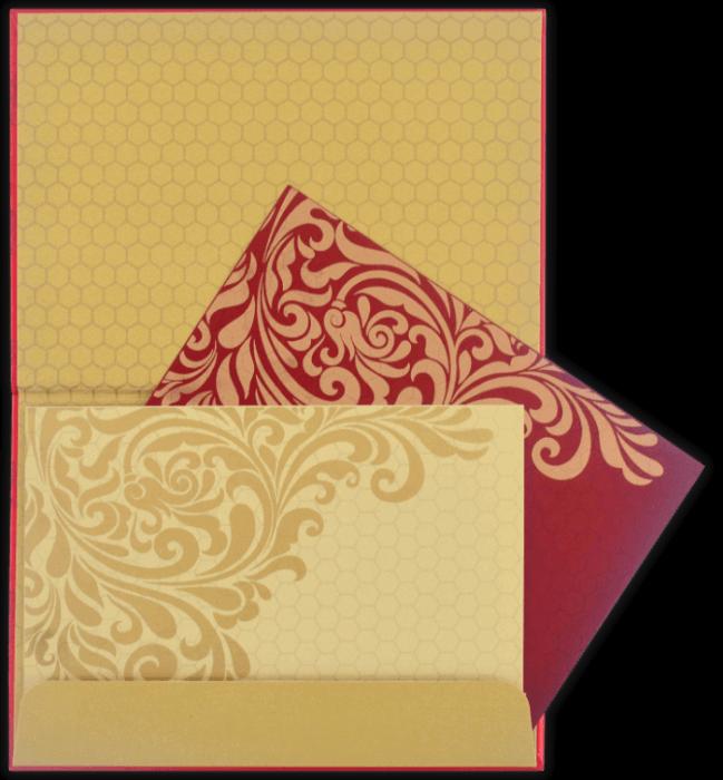 Luxury Wedding Cards - LWC-8762 - 5