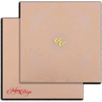 Hard Bound Wedding Cards - HBC-15032I