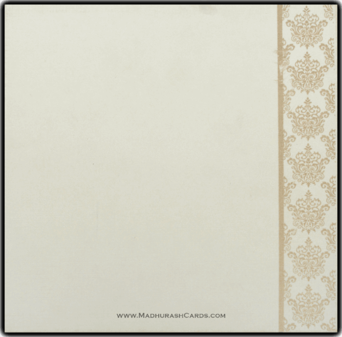 Muslim Wedding Cards - MWC-15137I - 3