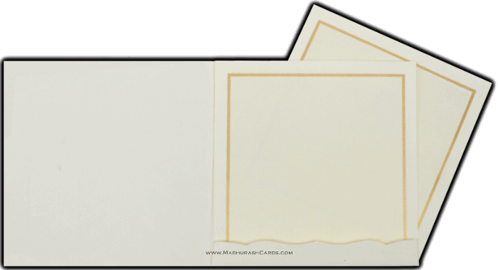 Muslim Wedding Cards - MWC-15137I - 4
