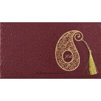 Muslim Wedding Cards - MWC-14111I