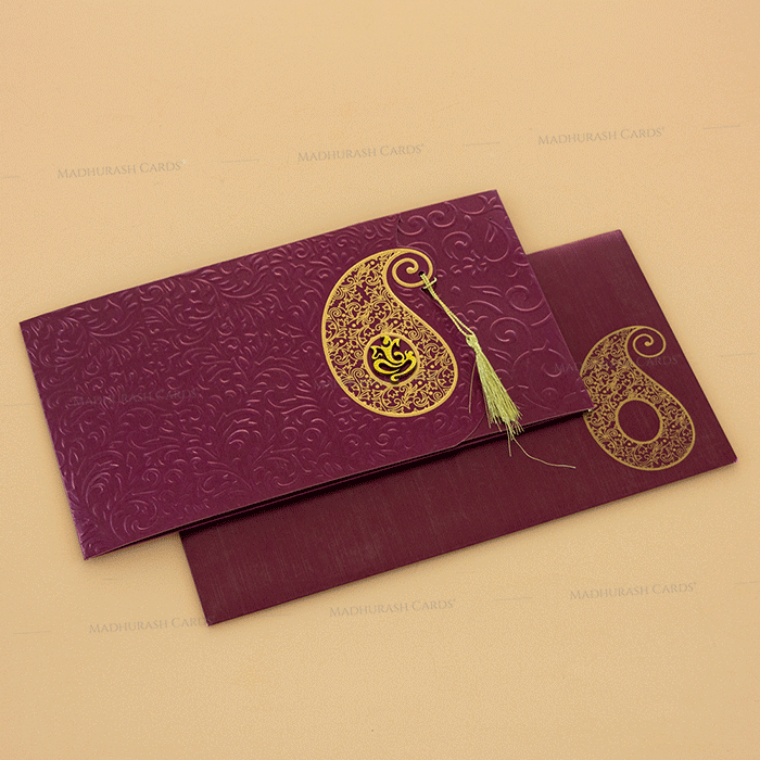 test Muslim Wedding Cards - MWC-14111I