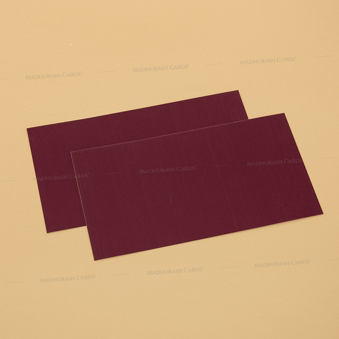 Muslim Wedding Cards - MWC-14111I - 4