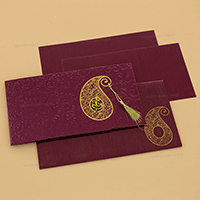 Hindu Wedding Cards - HWC-14111I