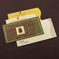 Muslim Wedding Cards - MWC-4091I