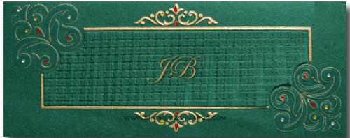 Muslim Wedding Cards - MWC-4523I