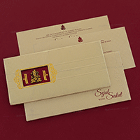 Hindu Wedding Cards - HWC-7048I