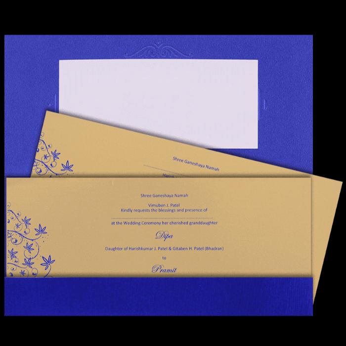 Christian Wedding Cards - CWI-7503I - 3