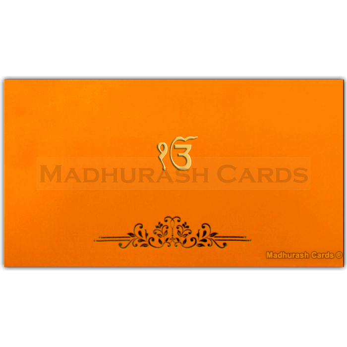 Sikh Wedding Cards - SWC-16121S - 2