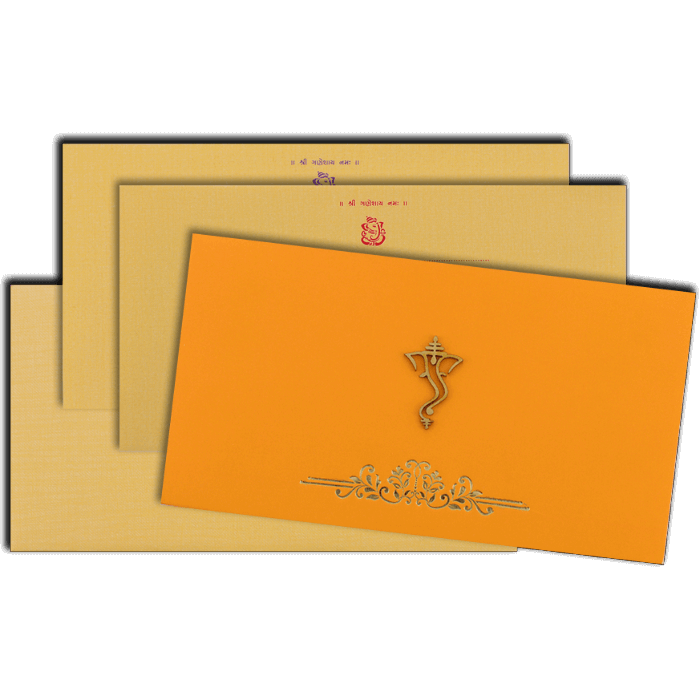 Hindu Wedding Cards - HWC-16121 - 5