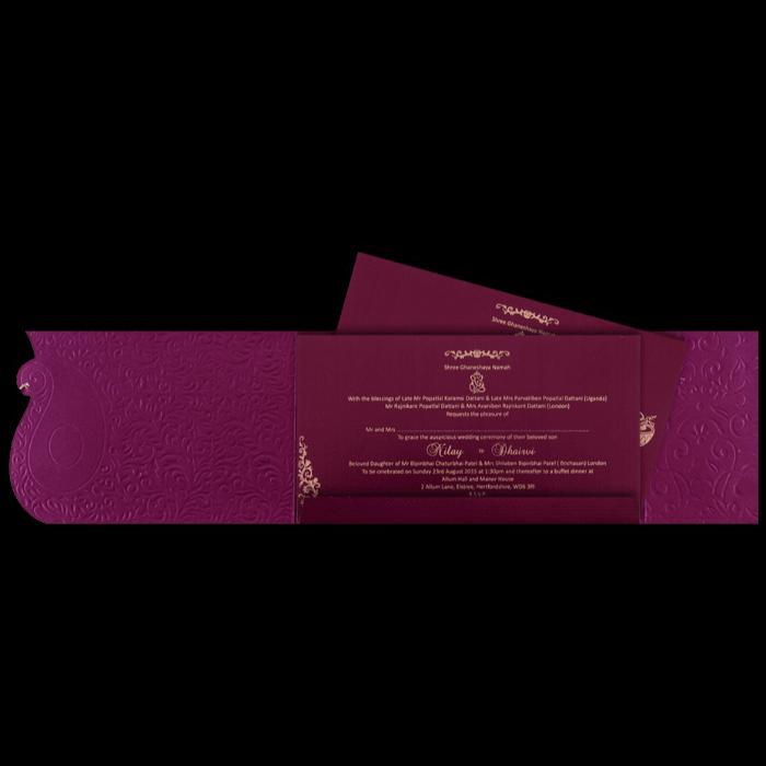 Sikh Wedding Cards - SWC-14111S - 3