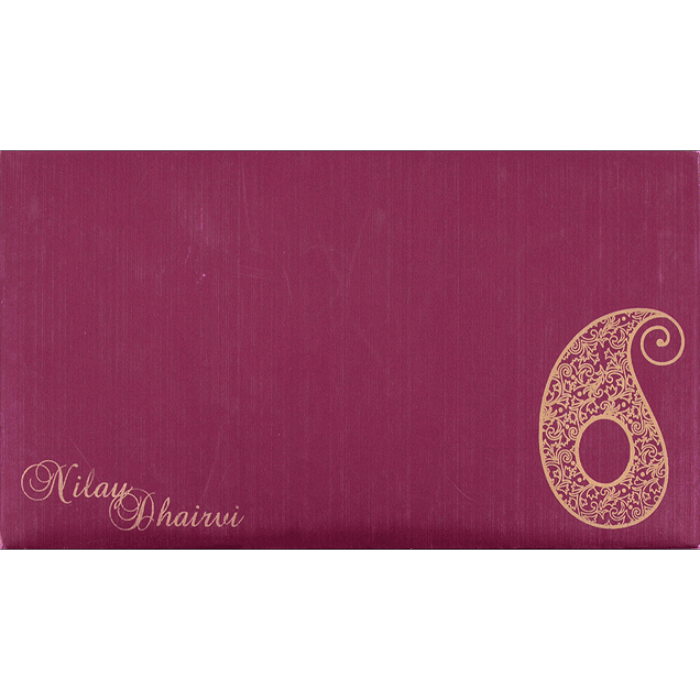 Sikh Wedding Cards - SWC-14111S - 4