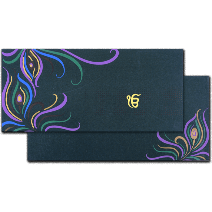 Sikh Wedding Cards - SWC-7029S