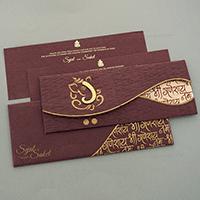 Hindu Wedding Cards - HWC-7126