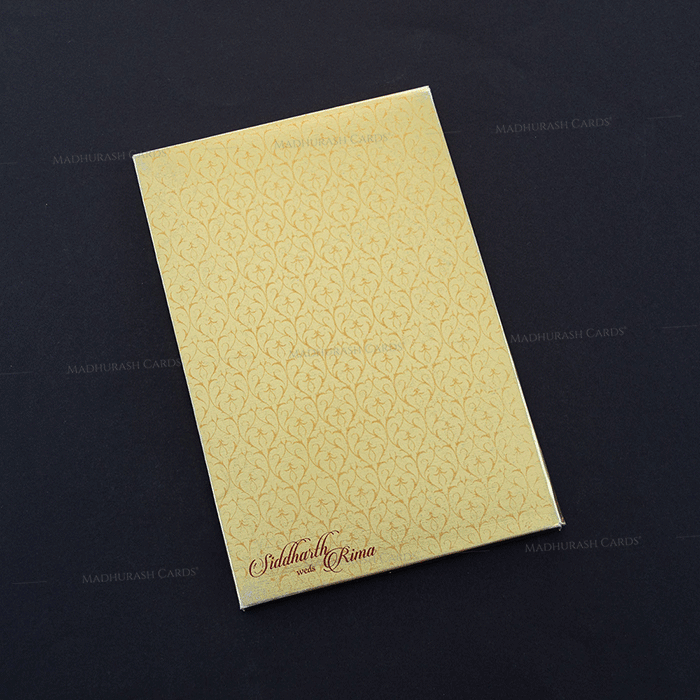 Hard Bound Wedding Cards - HBC-7009 - 3