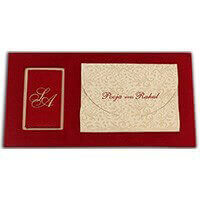 Hard Bound Wedding Cards - HBC-7499