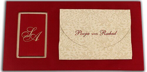 test Hard Bound Wedding Cards - HBC-7499