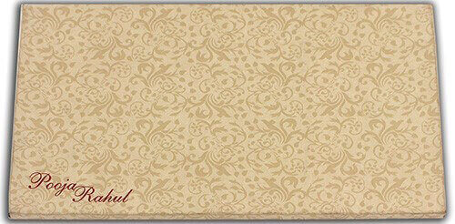 Hard Bound Wedding Cards - HBC-7499 - 3
