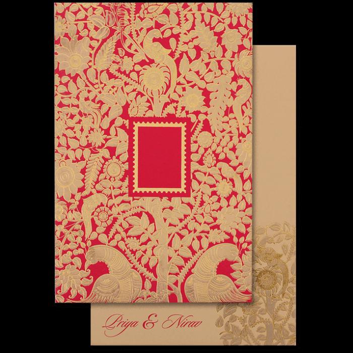 Hindu Wedding Cards - HWC-16069