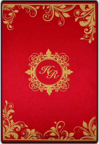 Customized Wedding Invitations - CZC-9096